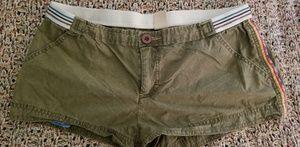 Free People Green Shorts Medium